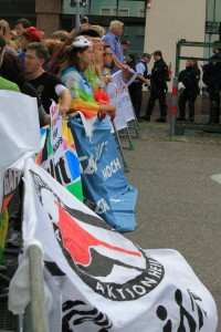 Gemeinsam gegen den Wahlkampf der NPD!